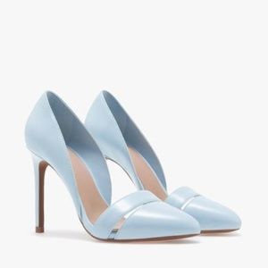 Ice Blue Zara Stiletto Pumps